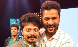 Prabhu Deva reunites with choreographer Sridhar after superhit song!