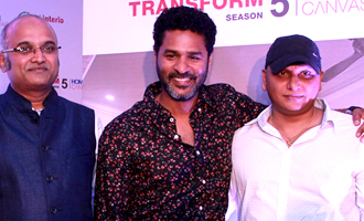 Actor Prabhu Deva Launches Season 5 of Upload and Transform Photos
