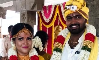பிரபல இயக்குனரின் உதவியாளரை மணந்த 'கோமாளி' படத்தொகுப்பாளர்