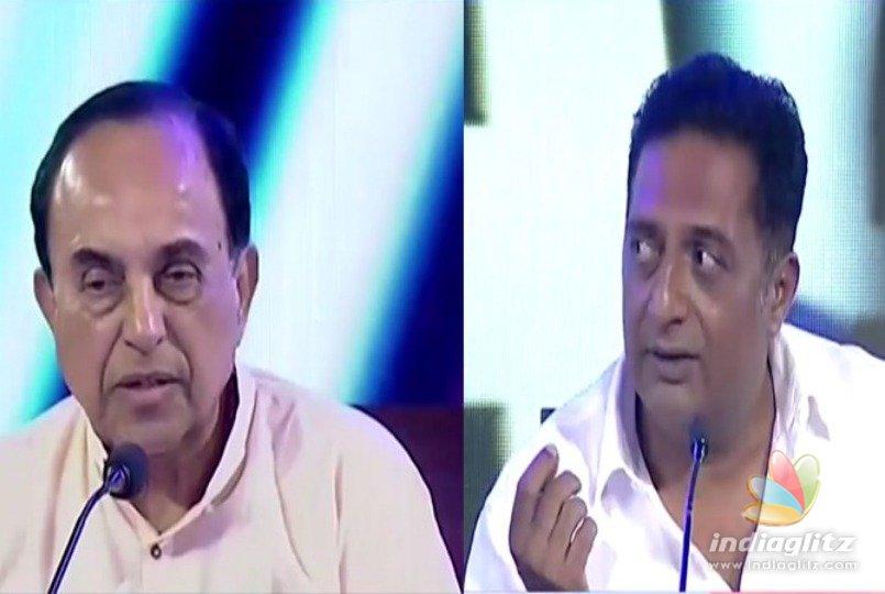 How dare you... Prakash Raj in Subramanian Swamy debate