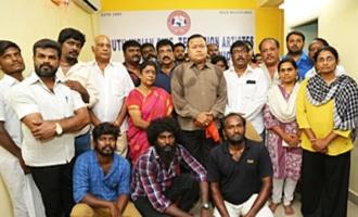 South Indian Movie, TV artistes & Dubbing Artistes Union Joint Prayer Meet for Kalaigniar Karunanidhi