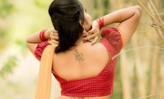 Serial actress shows off tattoos wearing traditional dress photos fire up the internet