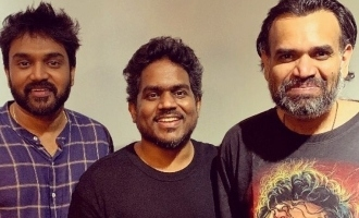 Yuvan Shankar Raja and Premgi recreate photos from the past, winning hearts!