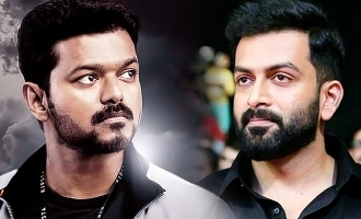 Prithviraj in trouble for massive release of Thalapathy Vijay's 'Bigil'