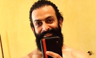 Prithviraj reveals shocking lean transformation for next movie!
