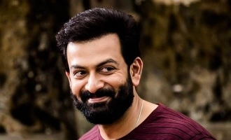 Actor Prithviraj tests positive for Coronavirus!