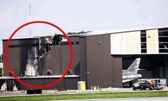 private plane crashes hangar texas ten killed