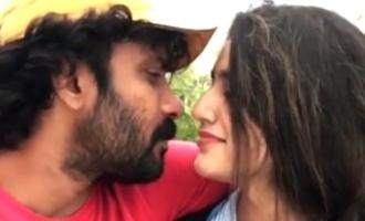 'லிப்கிஸ்' மிஸ் ஆனதால் ஏமாற்றம் அடைந்த பிரியா வாரியர்