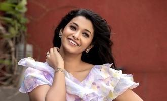 "Priya Bhavani Shankar's adorable ""I love you"" message for this hero!"