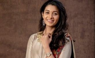 Priya Bhavani Shankar posts matrimonial photo - Anything Special?
