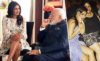 Priyanka Chopra gives a LEGGY response to trolls for meeting Modi