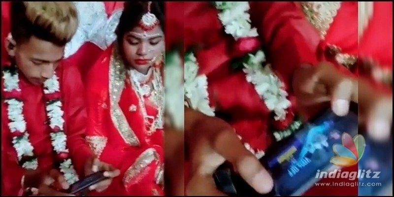 Bridegroom plays PUBG immediately after marriage: Bride shocked!