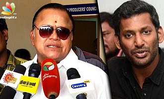 Radha Ravi against Vishal for contesting in RK Nagar