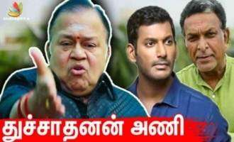 Pandavar Ani will become Dhuchadanan Ani soon - Radha Ravi Interview