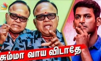 Tamilrockers or Vishal : Whom do you appreciate? : Radha ravi Interview