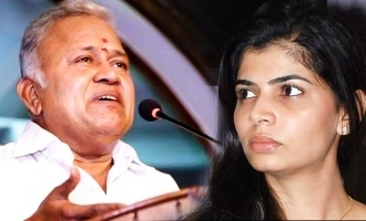 Chinmayi's strong tweets to BJP as Radharavi joins the party!