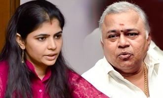 Chinmayi contest opposite to Radharavi in Dubbing Union election