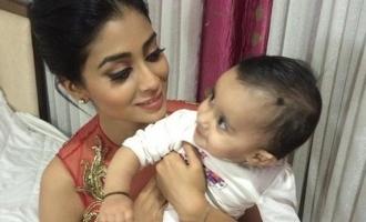 Shriya Saran reveals the true reason for giving newborn daughter a special name