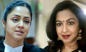 Radhika praises Jyothika after watching Ponmagal Vandhaal preview!