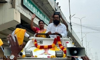 3500 கிமீ பயணம்: சரத்குமார்-ராதிகாவின் வீடியோ வைரல்