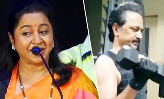 Radhika Sarathkumar teases MK Stalin's viral workout video