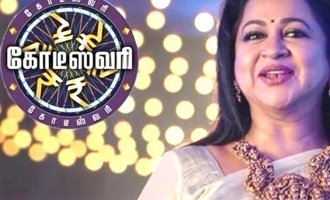 Radhika takes over Sarathkumar's role!