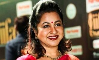 என்ன ஒரு அற்புதமான திரைப்படம்: ராதிகா சரத்குமார் பாராட்டு