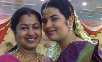 Radhika Sarathkumar's daughter Rayane Mithun gives birth to second child