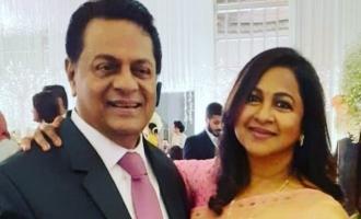 Actress Radhika Sarathkumar close relative Cyril passes away SMK Tamil Nadu Elections 2021