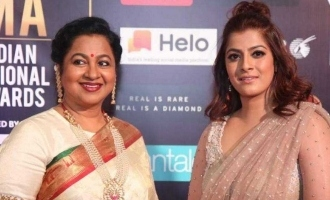 Varalakshmi Sarathkumar denies news about herself and Radhika Sarathkumar
