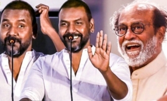 Rajini Reacts to CRITICISMS Against Him : Raghava Lawrence Speech