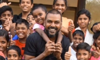 Raghava Lawrence's positive update on COVID 19 affected orphanage children