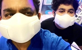 Do you know the cost of AR Rahman's Covid-19 face mask?