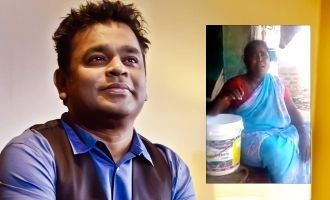 Isaipuyal A.R. Rahman appreciates poor village singer