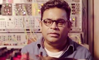 AR Rahman's powerful video message against drug addiction!