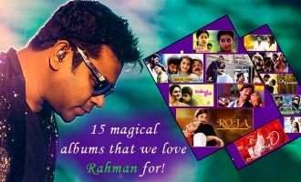 15 magical albums that we love Rahman for !