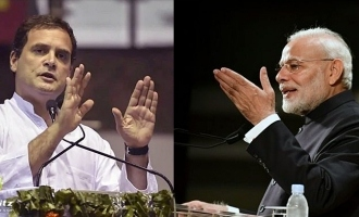 Rahul Gandhi attacks Modi for film shooting during Pulwama attack