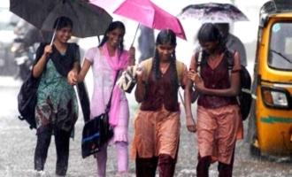 கனமழை எதிரொலி: 10 மாவட்டங்களில் பள்ளிகளுக்கு விடுமுறை