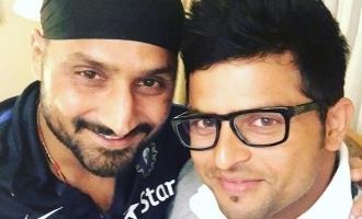 Harbhajan starrer Friendship release: Raina greets the team in Tamil