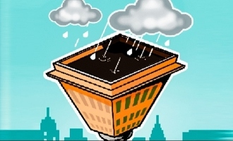 Self-Sufficient Chennai Building that Harvested Rainwater
