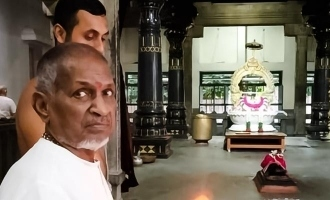 Ilaiyaraja pray for SPB at Tiruvannamalai
