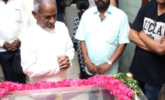Ilayaraja last respect to Mahendran