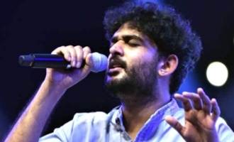 Sid Sriram does it for the firsttime!