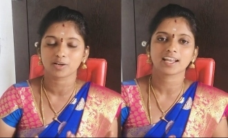 Super Singer Rajalakshmi Senthil's clarification on controversial video