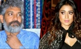 Is S.S. Rajamouli upset with Shriya Saran?