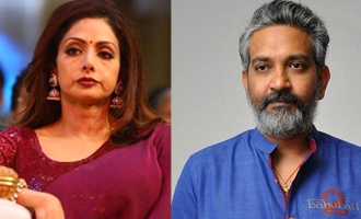 Rajamouli regrets his comments about Sridevi