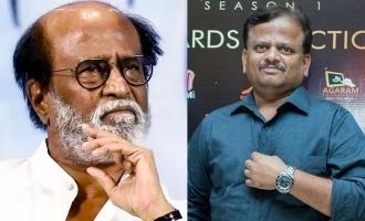 Rajinikanth tweet for Director KV Anand dead