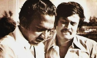 Rajnikanth's lovely voice message about legendary director!