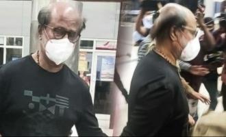 Superstar Rajinikanth flies to the USA - Plans revealed