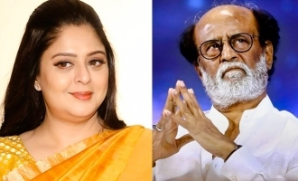 Nagma advised to Rajinikanth for politics